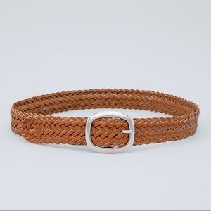 🆕WHBM WOVEN LEATHER BELT